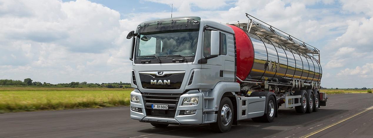 Новый MAN TGS для дальних перевозок