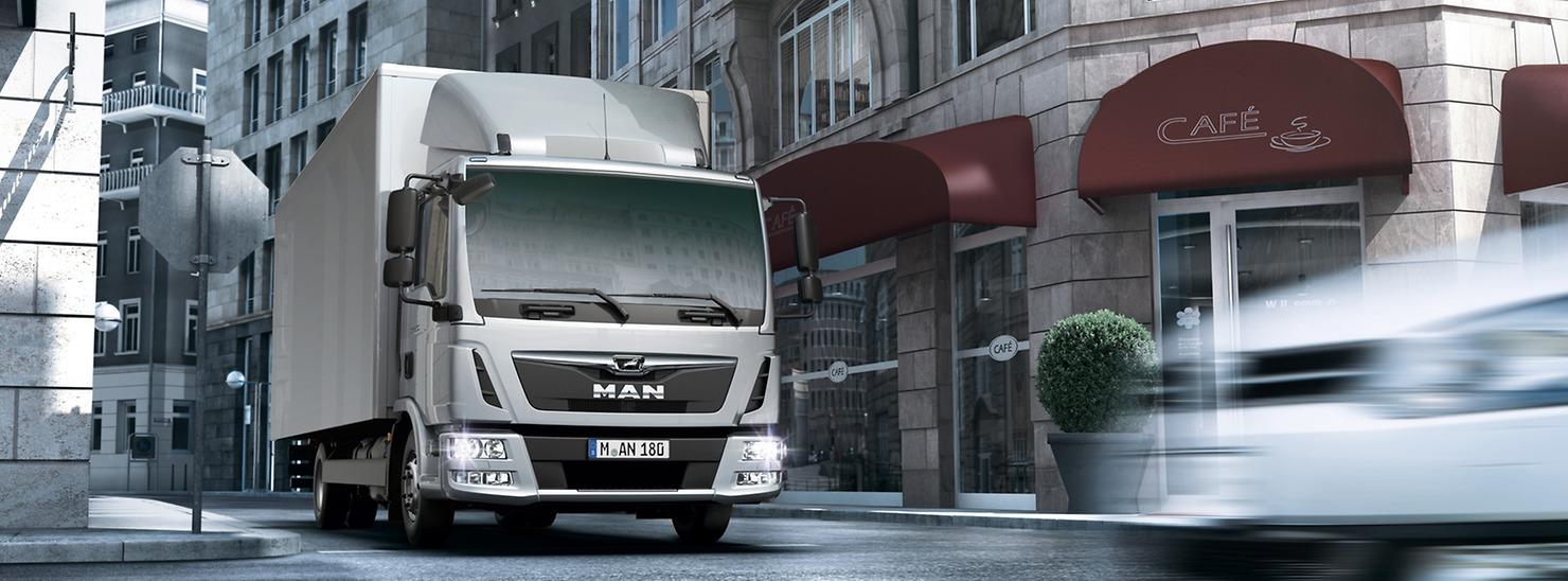 MAN TGL для развозных перевозок