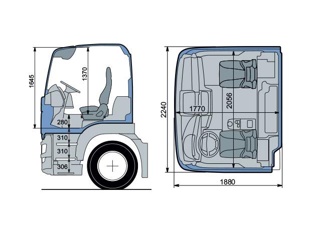cabine m man tgs sur les chantiers man camions france. Black Bedroom Furniture Sets. Home Design Ideas