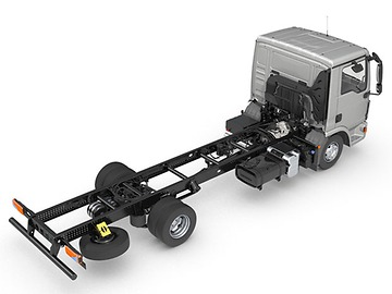 Простота установки дополнительного оборудования и переоснащения кузова MAN TGL — простота установки дополнительного оборудования и переоснащения кузова