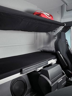 cabine lx man tgs dans le transport long courrier man. Black Bedroom Furniture Sets. Home Design Ideas