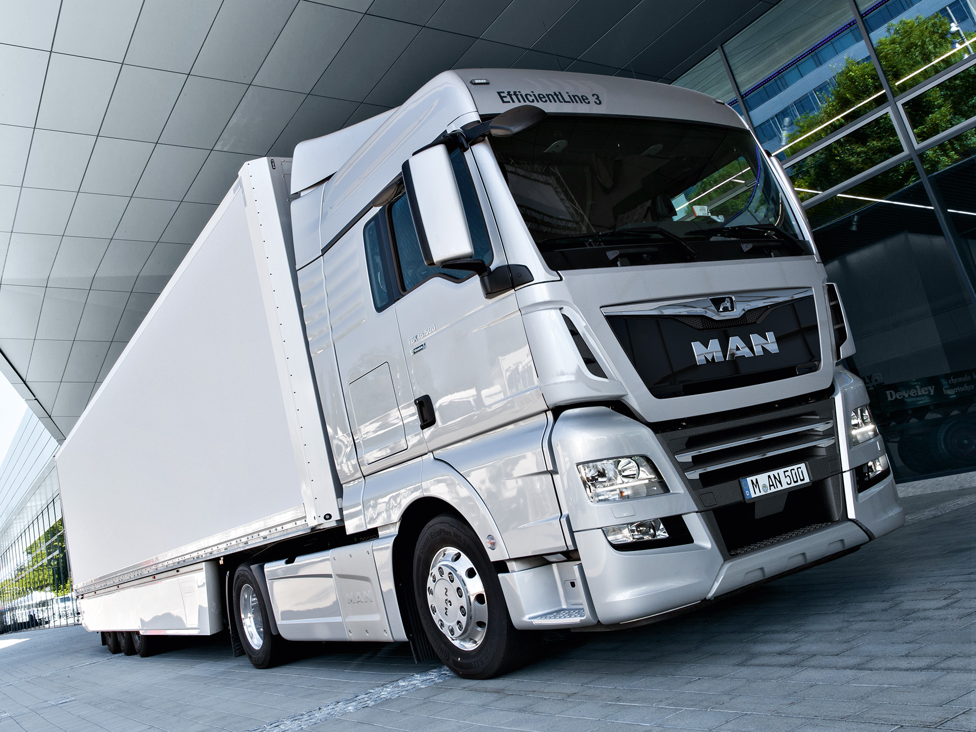 MAN TGX EfficientLine - Euro 6-technologie