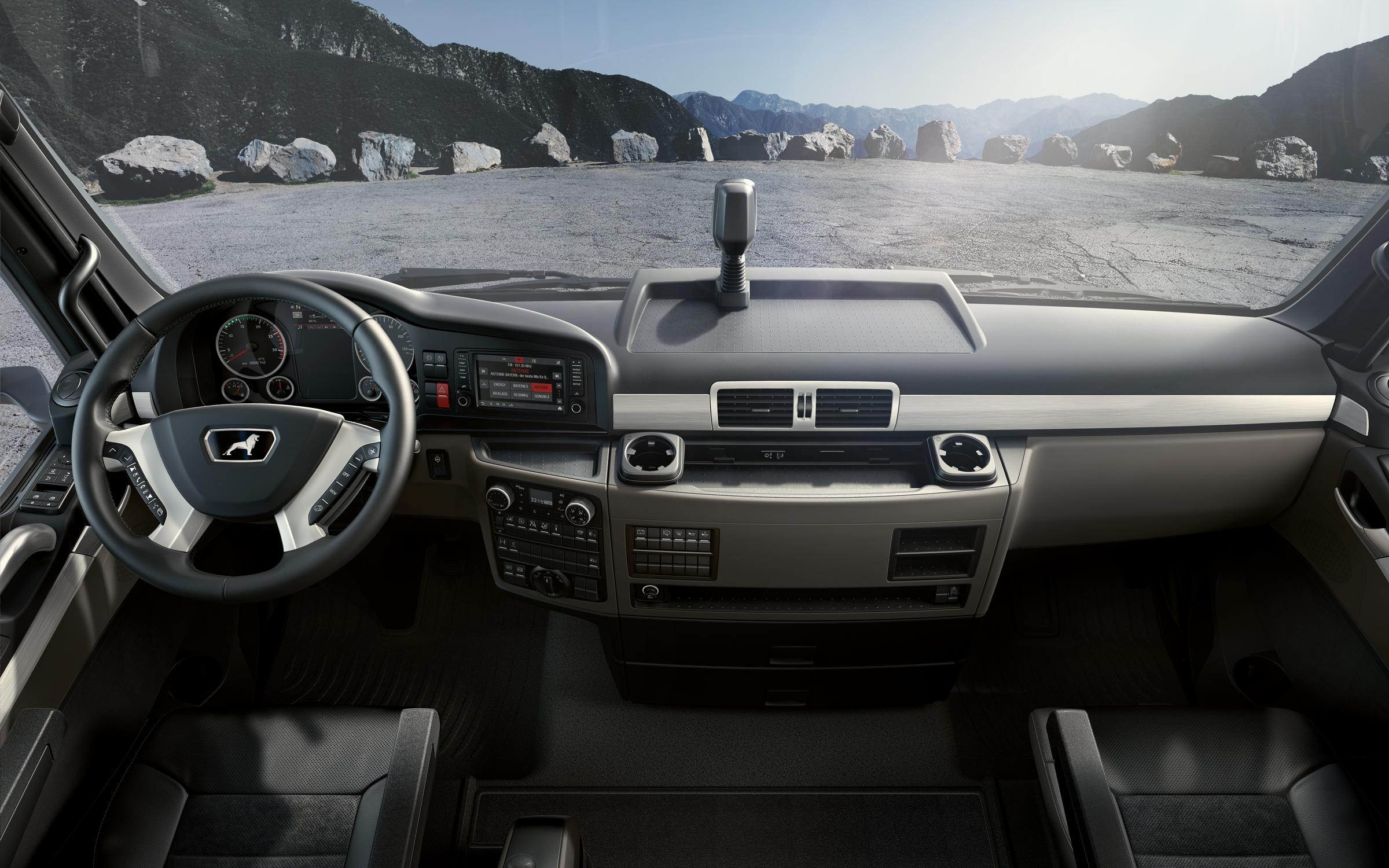 MAN TG Vehicles: Newly-designed interior | MAN Trucks United Kingdom