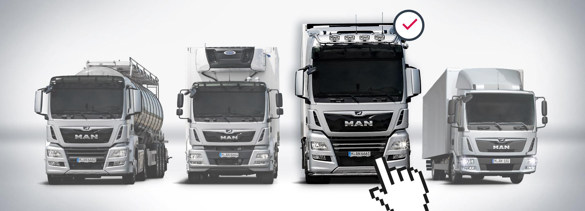 Konfigurator pojazdów ciężarowych