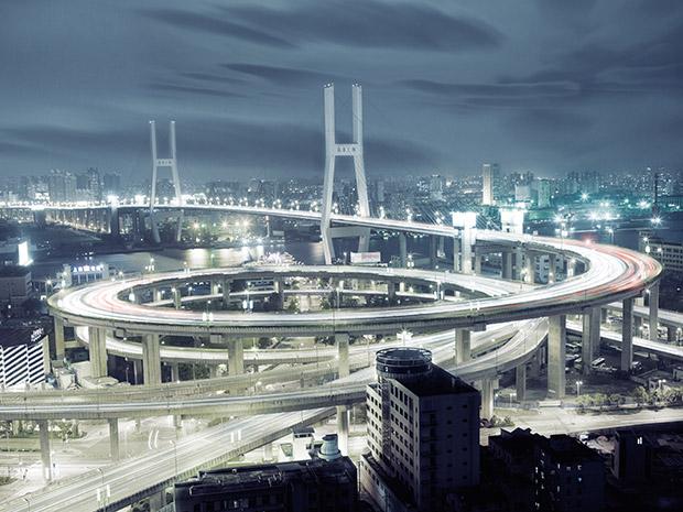 Highway in Shanghai