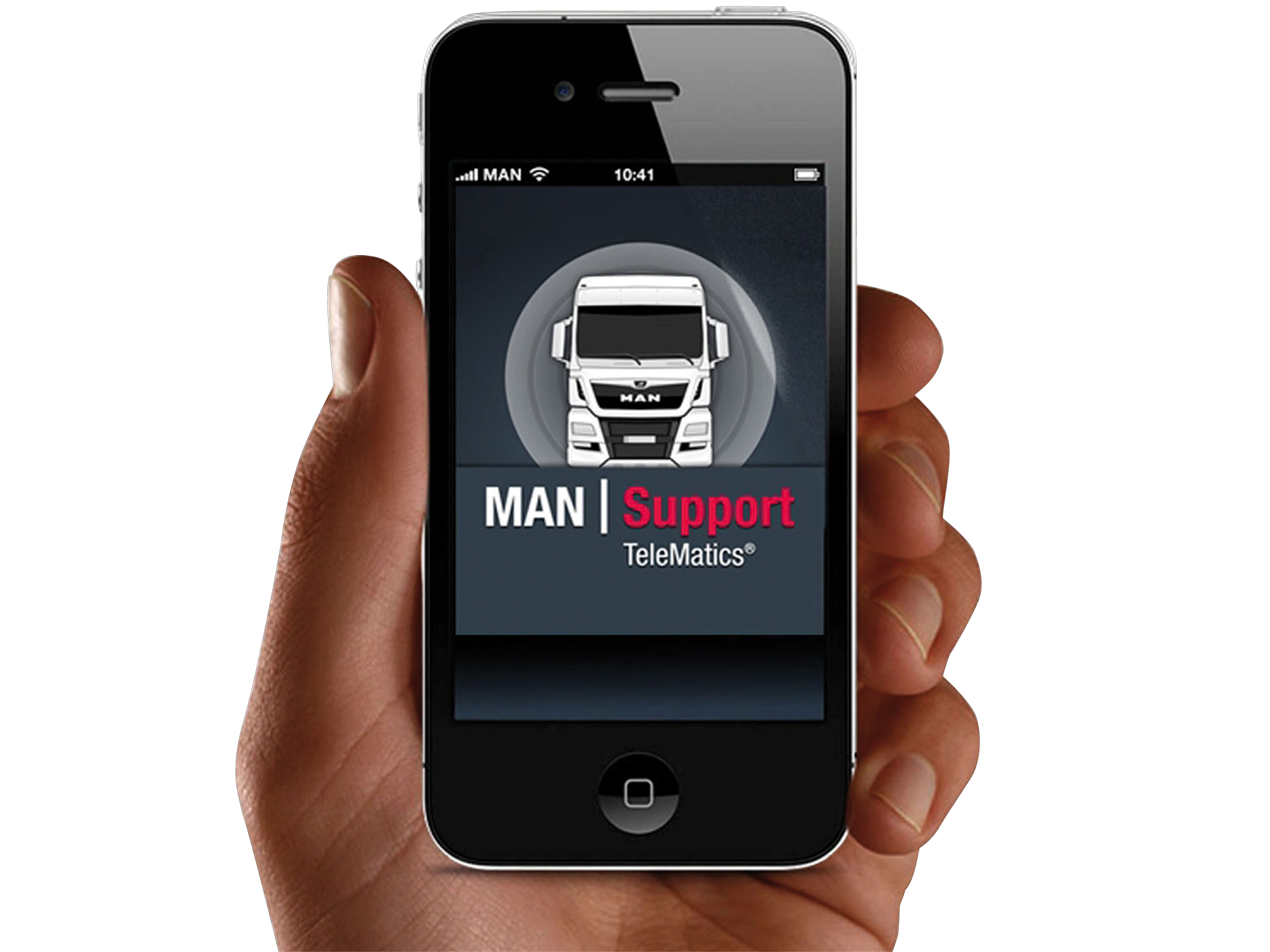 MAN TeleMatics® auf dem iPhone