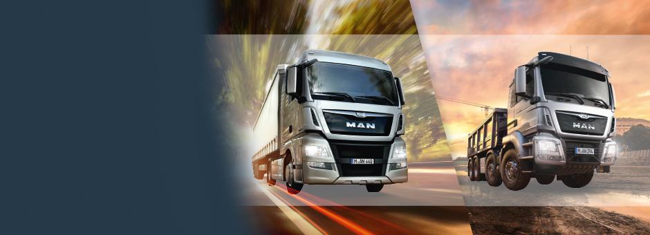 Lkw – MAN Trucks to go.