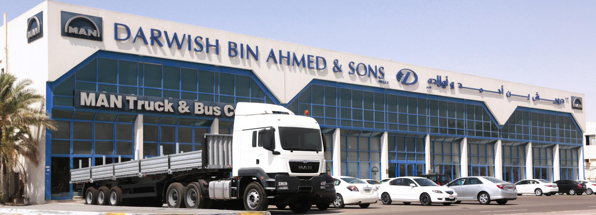 Authorized Dealership Darwish Bin Ahmed Amp Sons Co Llc