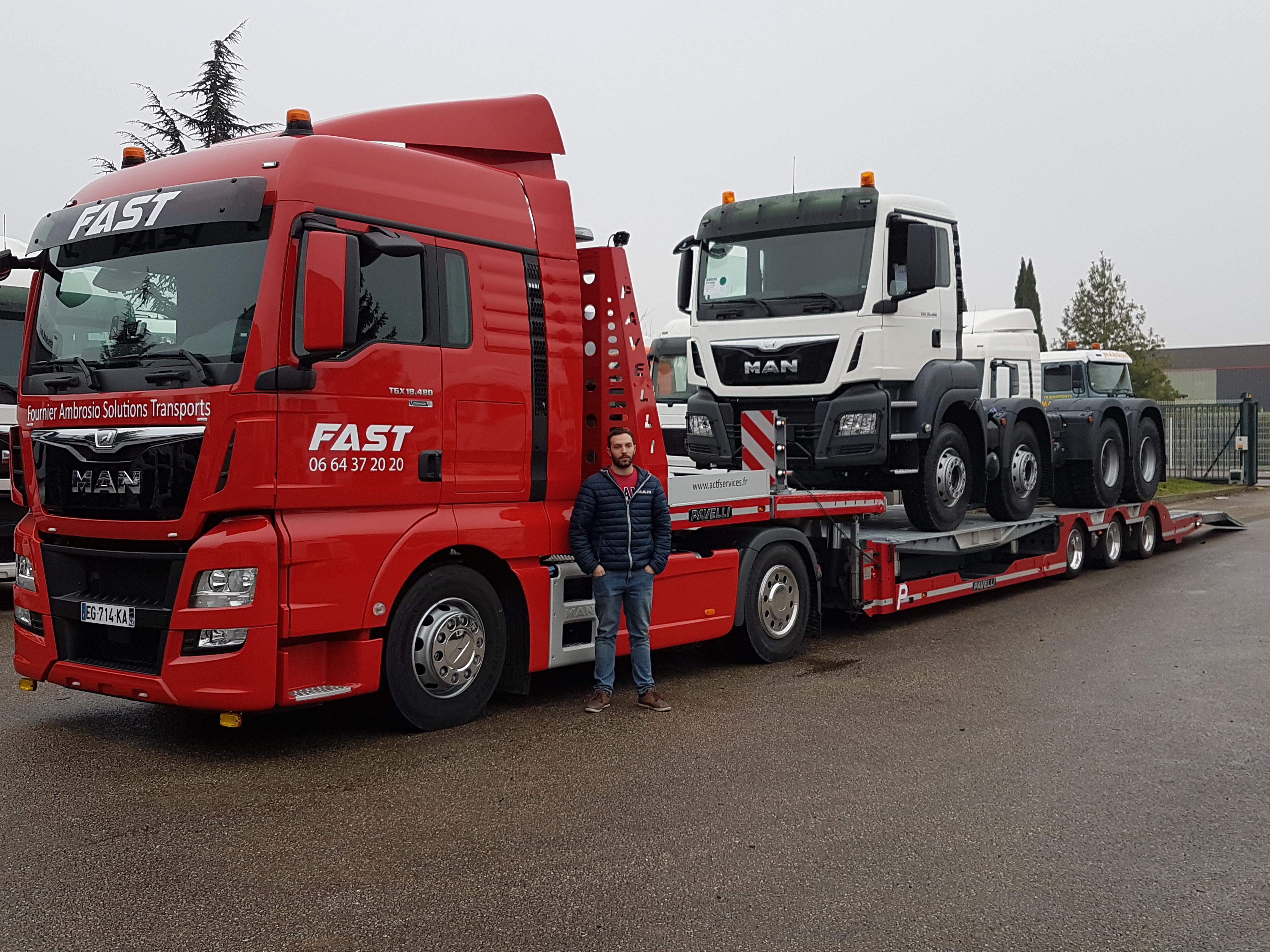 man truck  u0026 bus france a  u00e9t u00e9 choisi pour fournir  u00e0 la