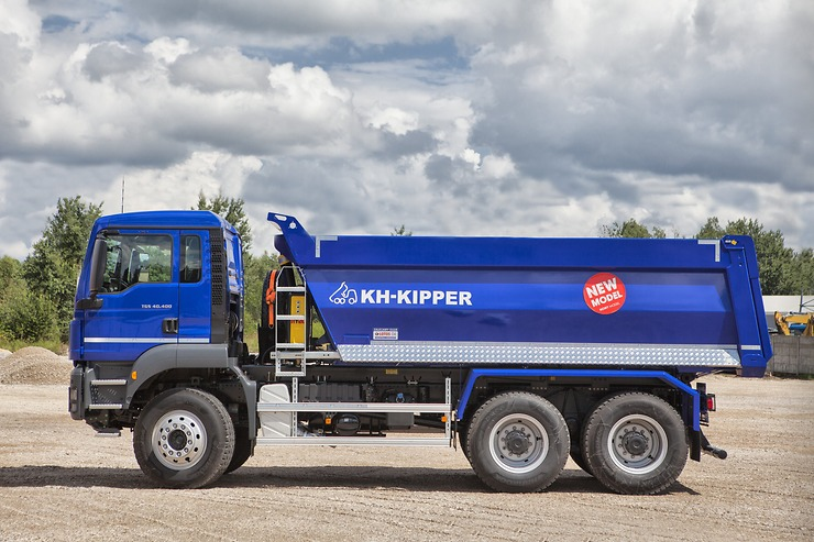 MAN TGS 40.400 6x4 BB-WW с прямоугольным кузовом KH-KIPPER W1CЕ