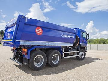 MAN TGS 40.400 6x4 BB-WW с прямоугольным кузовом KH-KIPPER W1CЕ новая модель