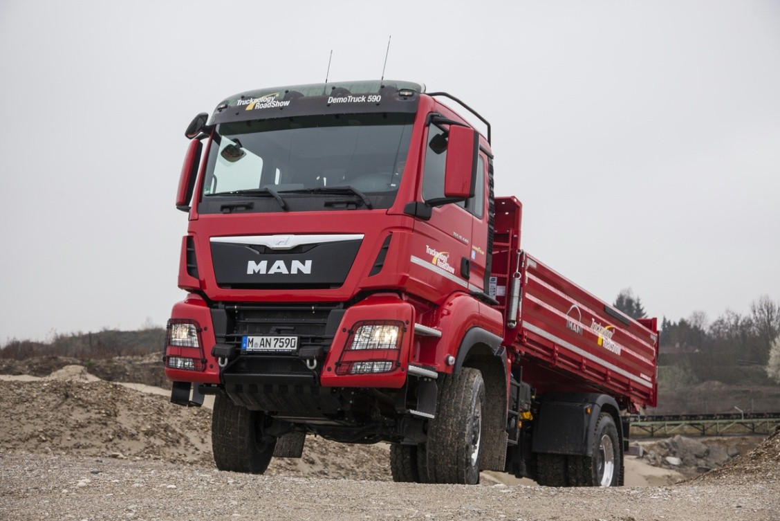 MAN Traction Days 2015: MAN showcases its traction prowess with 50 vehicles from the ...