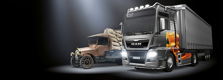 "Große Show, viel Talent – MAN TGX D38 ""100 Years Edition"""